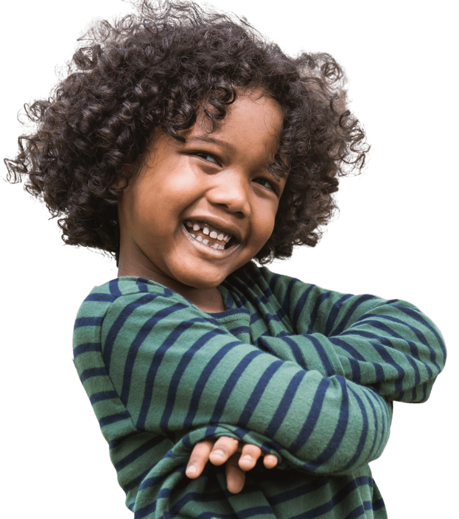 Kid at Drop-in childcare center serving Washington and Texas